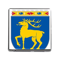 Coat of Arms of Aland Memory Card Reader (Square)