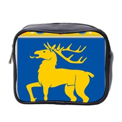 Coat of Arms of Aland Mini Toiletries Bag 2-Side