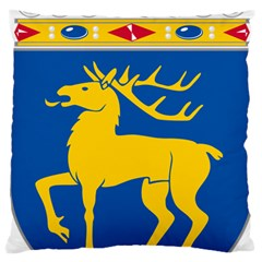 Coat of Arms of Aland Large Cushion Case (One Side)