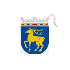 Coat Of Arms Of Aland Drawstring Pouches (xs)