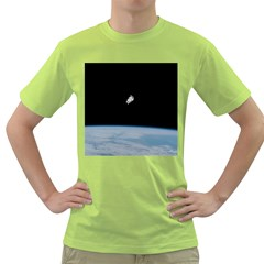 Amazing Stunning Astronaut Amazed Green T-Shirt