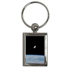 Amazing Stunning Astronaut Amazed Key Chains (Rectangle)