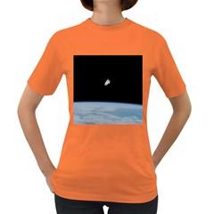 Amazing Stunning Astronaut Amazed Women s Dark T-Shirt
