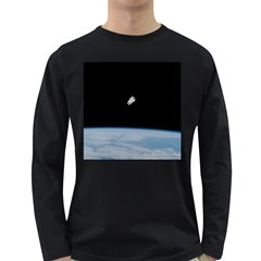 Amazing Stunning Astronaut Amazed Long Sleeve Dark T-Shirts