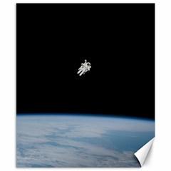 Amazing Stunning Astronaut Amazed Canvas 8  X 10
