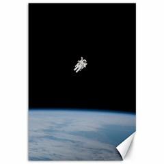 Amazing Stunning Astronaut Amazed Canvas 12  x 18