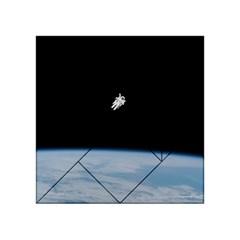 Amazing Stunning Astronaut Amazed Acrylic Tangram Puzzle (4  x 4 )