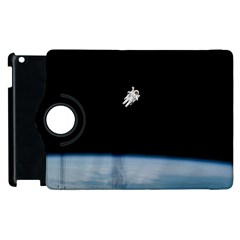 Amazing Stunning Astronaut Amazed Apple iPad 2 Flip 360 Case