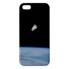 Amazing Stunning Astronaut Amazed iPhone 5S/ SE Premium Hardshell Case