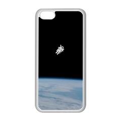 Amazing Stunning Astronaut Amazed Apple iPhone 5C Seamless Case (White)