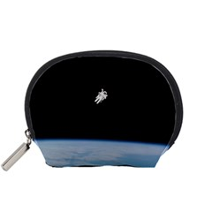 Amazing Stunning Astronaut Amazed Accessory Pouches (Small)