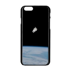Amazing Stunning Astronaut Amazed Apple iPhone 6/6S Black Enamel Case