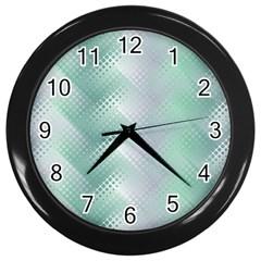 Jellyfish Ballet Wind Wall Clocks (Black)