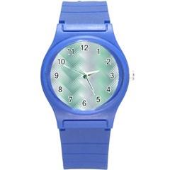 Jellyfish Ballet Wind Round Plastic Sport Watch (S)