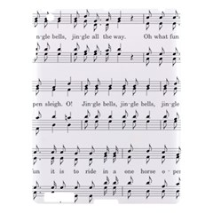 Jingle Bells Song Christmas Carol Apple Ipad 3/4 Hardshell Case