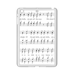 Jingle Bells Song Christmas Carol iPad Mini 2 Enamel Coated Cases