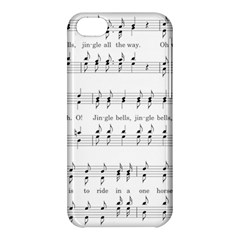 Jingle Bells Song Christmas Carol Apple iPhone 5C Hardshell Case
