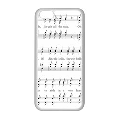 Jingle Bells Song Christmas Carol Apple Iphone 5c Seamless Case (white)