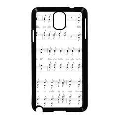 Jingle Bells Song Christmas Carol Samsung Galaxy Note 3 Neo Hardshell Case (black)