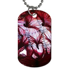 Jellyfish Ballet Wind Dog Tag (one Side)