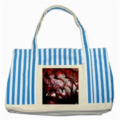 Jellyfish Ballet Wind Striped Blue Tote Bag