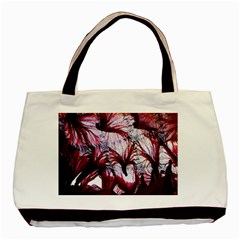 Jellyfish Ballet Wind Basic Tote Bag (two Sides)