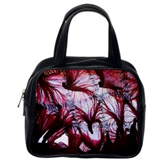 Jellyfish Ballet Wind Classic Handbags (one Side)