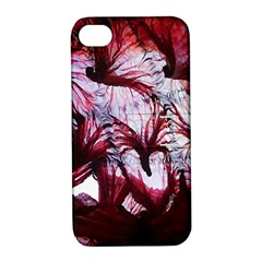 Jellyfish Ballet Wind Apple Iphone 4/4s Hardshell Case With Stand