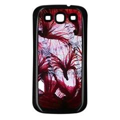 Jellyfish Ballet Wind Samsung Galaxy S3 Back Case (black)