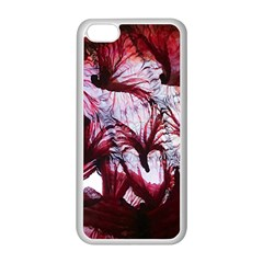 Jellyfish Ballet Wind Apple iPhone 5C Seamless Case (White)