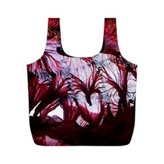 Jellyfish Ballet Wind Full Print Recycle Bags (M)