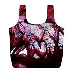 Jellyfish Ballet Wind Full Print Recycle Bags (L)