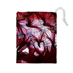 Jellyfish Ballet Wind Drawstring Pouches (Large)