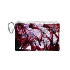Jellyfish Ballet Wind Canvas Cosmetic Bag (S)