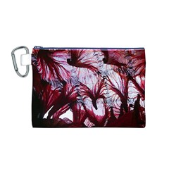Jellyfish Ballet Wind Canvas Cosmetic Bag (m)