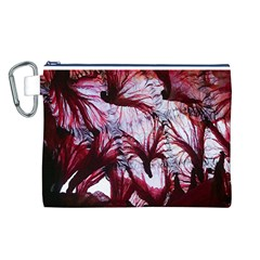 Jellyfish Ballet Wind Canvas Cosmetic Bag (L)
