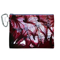 Jellyfish Ballet Wind Canvas Cosmetic Bag (XL)