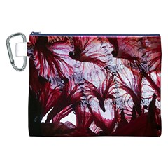 Jellyfish Ballet Wind Canvas Cosmetic Bag (xxl)