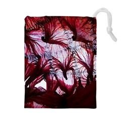 Jellyfish Ballet Wind Drawstring Pouches (Extra Large)