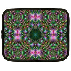 Digital Kaleidoscope Netbook Case (xl)
