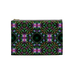 Digital Kaleidoscope Cosmetic Bag (Medium)