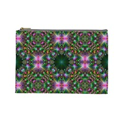 Digital Kaleidoscope Cosmetic Bag (Large)