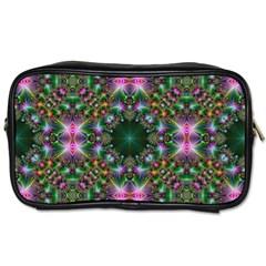 Digital Kaleidoscope Toiletries Bags