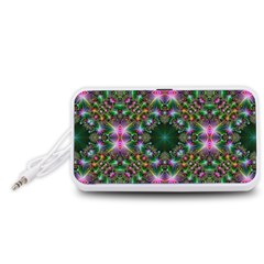 Digital Kaleidoscope Portable Speaker (White)