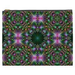 Digital Kaleidoscope Cosmetic Bag (XXXL)