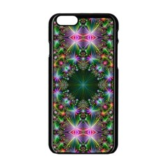 Digital Kaleidoscope Apple iPhone 6/6S Black Enamel Case