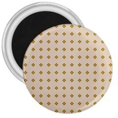 Pattern Background Retro 3  Magnets