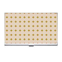 Pattern Background Retro Business Card Holders