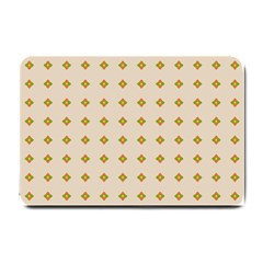 Pattern Background Retro Small Doormat