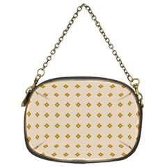 Pattern Background Retro Chain Purses (Two Sides)